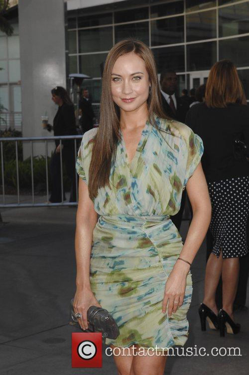 Courtney Ford  at the premiere of HBO's...
