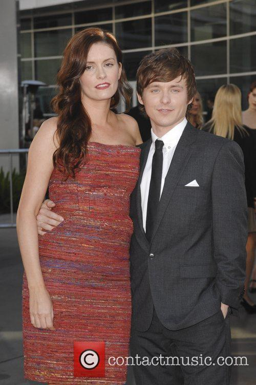 Anne Jamie, Marshall Allman  at the premiere...