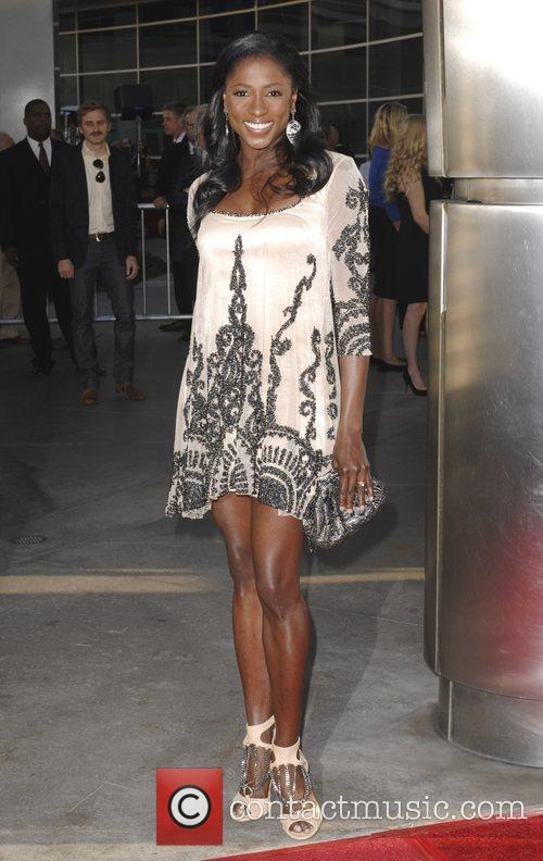 Rutina Wesley  at the premiere of HBO's...