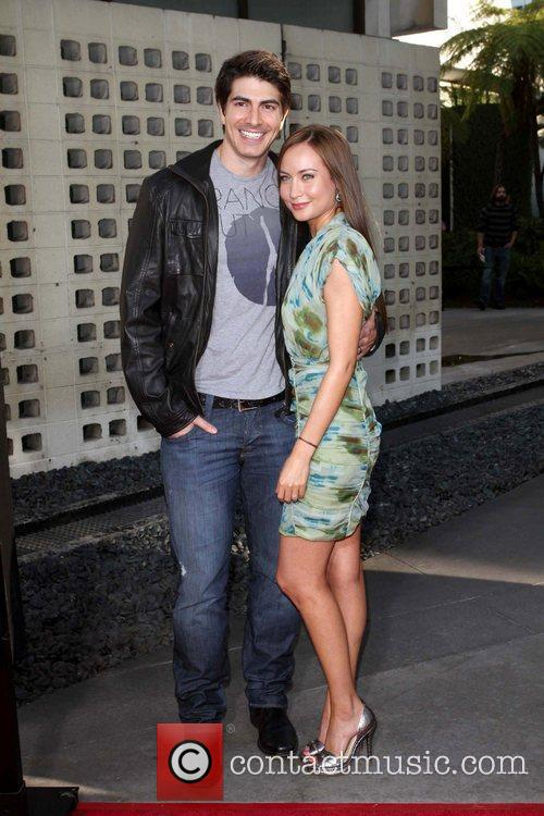 Brandon Routh and Courtney Ford 6