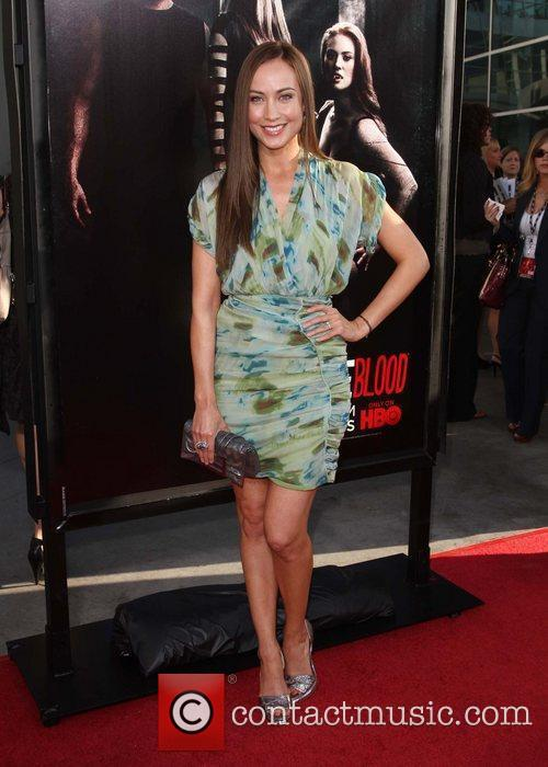 Courtney Ford HBO's True Blood Season 4 Premiere...