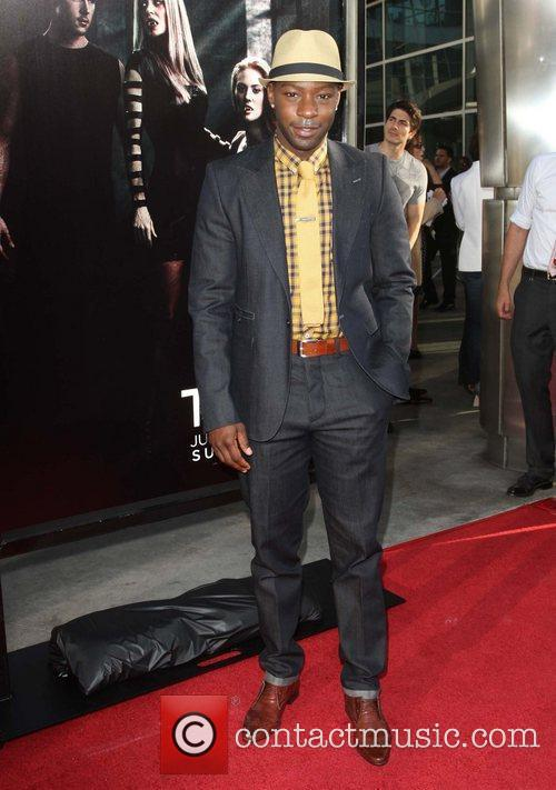 Nelsan Ellis HBO's True Blood Season 4 Premiere...