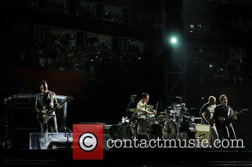 Bono, Adam Clayton, Larry Mullen Jr, The Edge and U2 5
