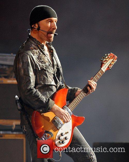The Edge and U2 3