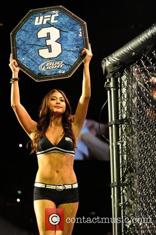 Ring girl and Playboy model Arianny Celeste UFC...