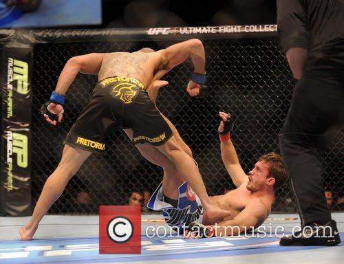 The UK's Brad Pickett who lost to Renan...
