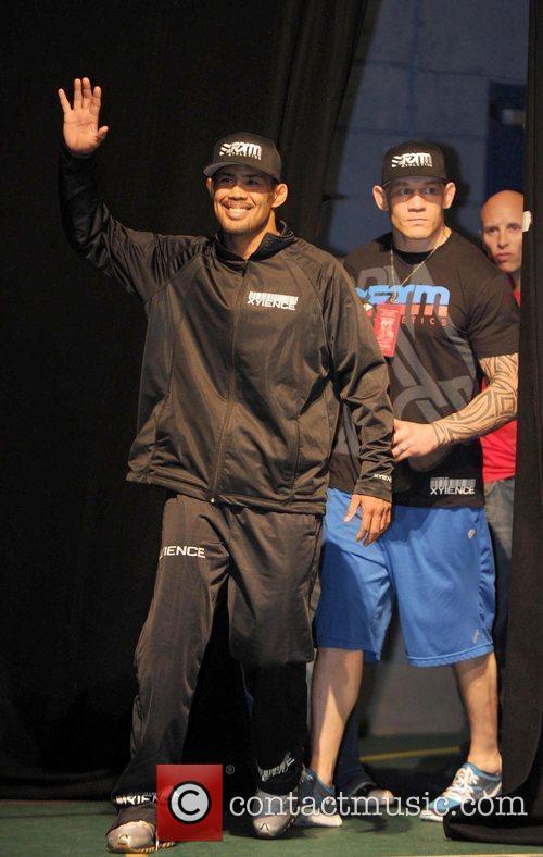 UFC headline fighter fighter Mark Munoz UFC 138,...