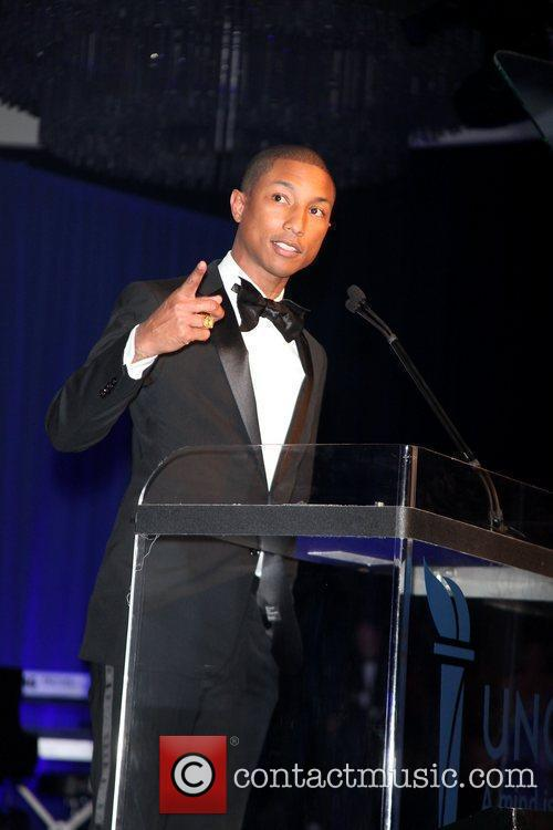 Pharrell Williams 2011 UNCF annual Gala at the...