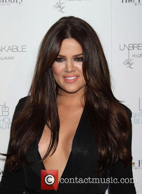 Khloe Kardashian Launches her new fragrance Unbreakable at...