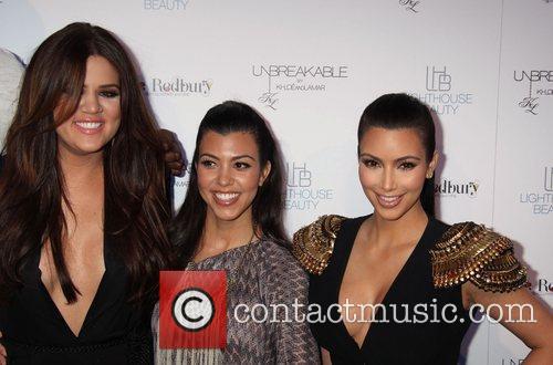 Kim Kardashian, Khloe Kardashian and Kourtney Kardashian Khloe...