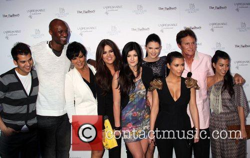 Rob Kardashian, Lamar Odom, Kris Jenner, Khloe Kardashian,...