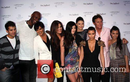 Lamar Odom, Bruce Jenner, Khloe Kardashian, Kim Kardashian, Kourtney Kardashian, Kris Jenner and Kylie Jenner 5