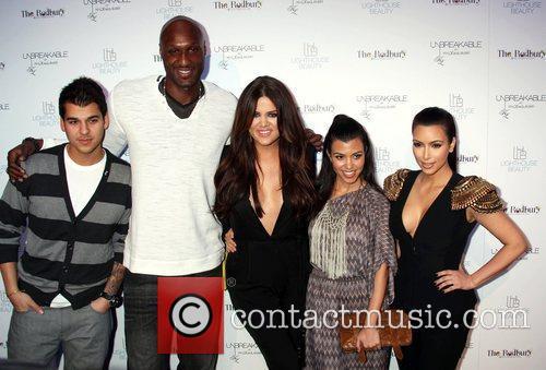 Rob Kardashian, Lamar Odom, Khloe Kardashian, Kim Kardashian...