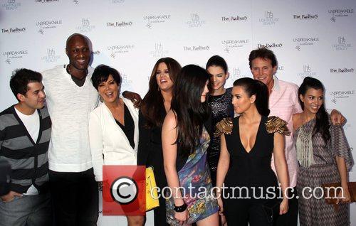 Lamar Odom, Bruce Jenner, Khloe Kardashian, Kim Kardashian, Kourtney Kardashian, Kris Jenner and Kylie Jenner 1