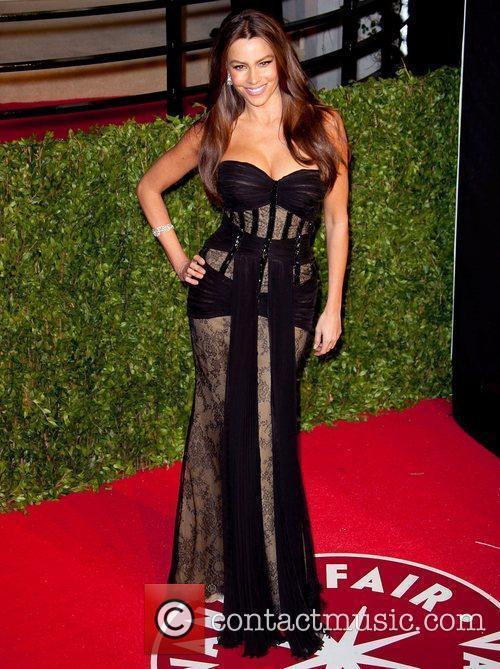 Sofia Vergara 2011 Vanity Fair Oscar Party at...