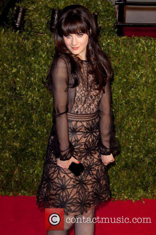 Zooey Deschanel 2011 Vanity Fair Oscar Party at...