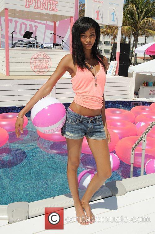 Victoria's Secret Angel Chanel Iman attends Victoria's Secret...