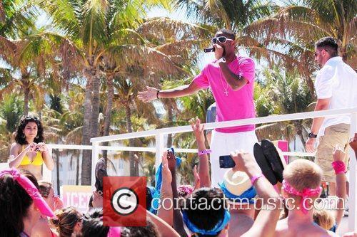 DJ Irie Victoria's Secret Pink Nation Beach Bash...