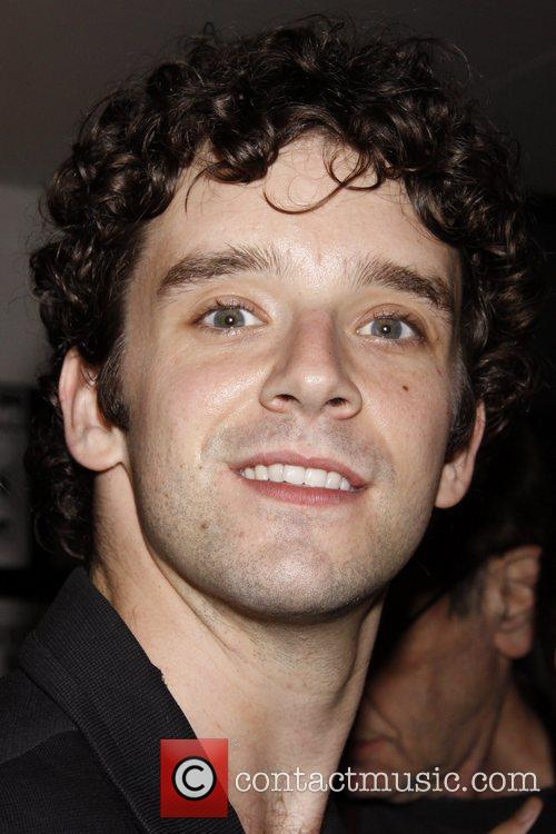 Michael Urie Reception following the reading of the...