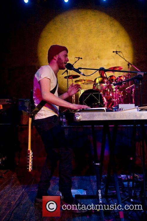 Wild Beasts performing live at Wiltern's Music Hall...