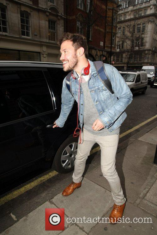 Will Young leaves a hairdressers in the West...