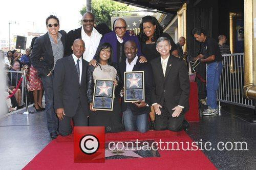 Bebe Winans and Star On The Hollywood Walk Of Fame 5