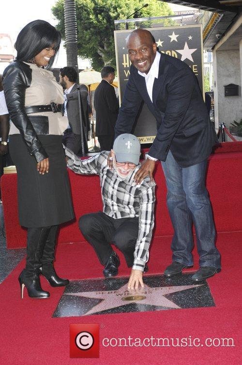 Bebe Winans, Jim Bakker and Star On The Hollywood Walk Of Fame 2