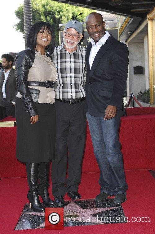 Bebe Winans, Jim Bakker and Star On The Hollywood Walk Of Fame 1