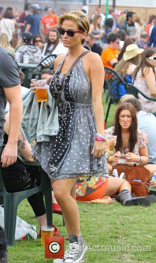 Sarah Harding Wireless Festival held at Hyde Park...
