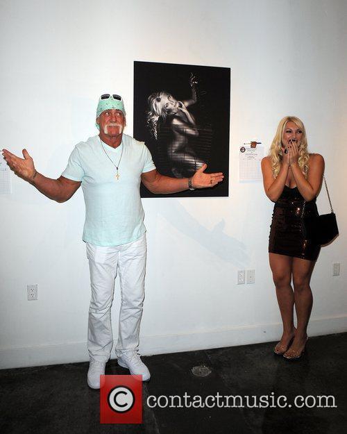 Hulk Hogan and Brooke Hogan 4
