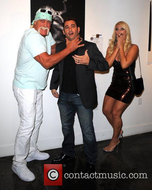 Hulk Hogan and Brooke Hogan 1