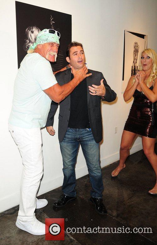 Hulk Hogan, Brooke Hogan and Katie Price 5