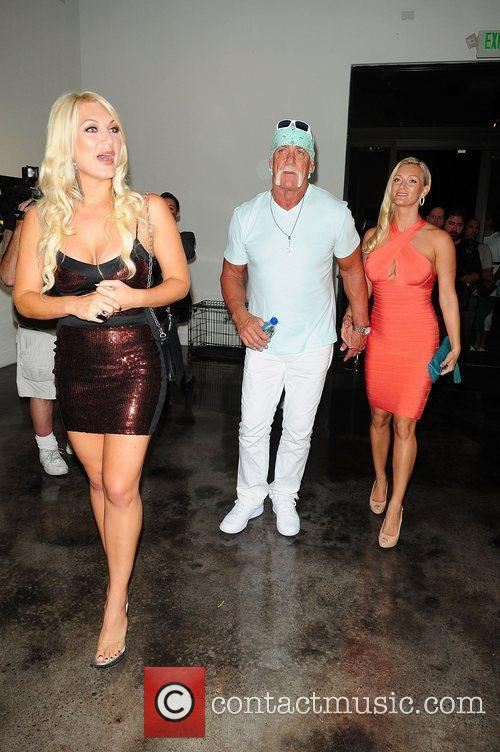 Hulk Hogan, Brooke Hogan and Jennifer McDaniel 5
