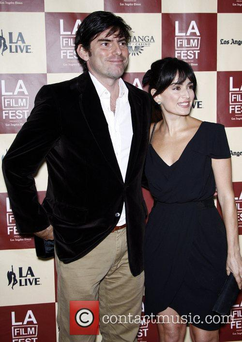 Chris Weitz and Ana De La Reguera