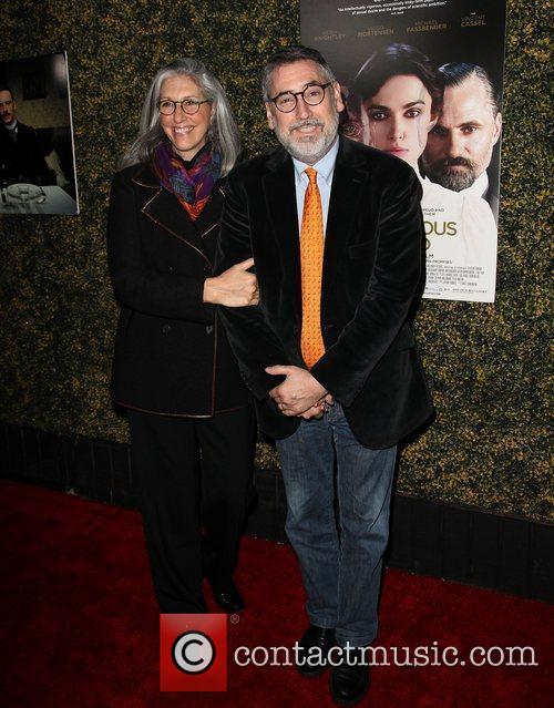 Deborah Nadoolman Landis and John Landis LA Premiere...
