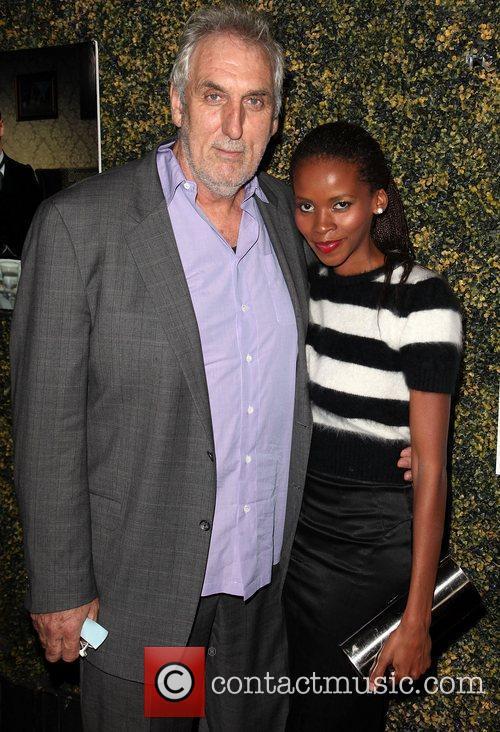 Director Phillip Noyce and wife Vuyo Dyasi...