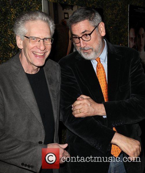 Directors David Cronenberg and John Landis LA Premiere...