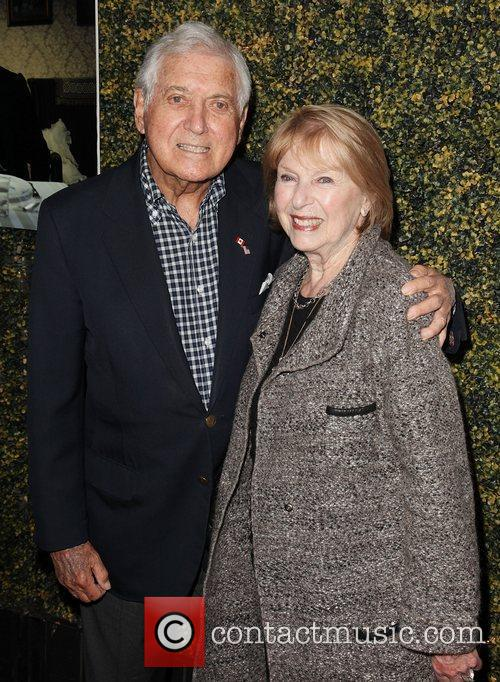 Monty Hall and wife LA Premiere Of Sony...