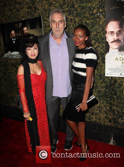 Tiana Alexandra, director Phillip Noyce and wife Vuyo...