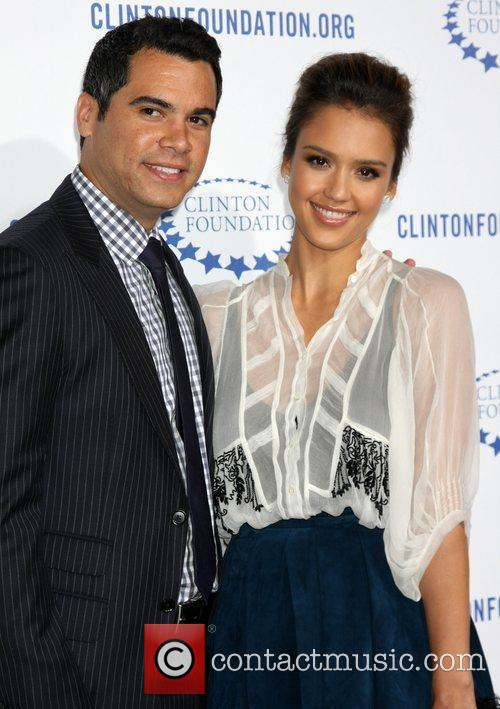 Cash Warren and Jessica Alba 3