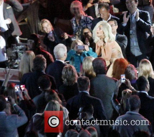 Lady Gaga and Bill Clinton 3