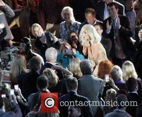 Lady Gaga and Bill Clinton 6
