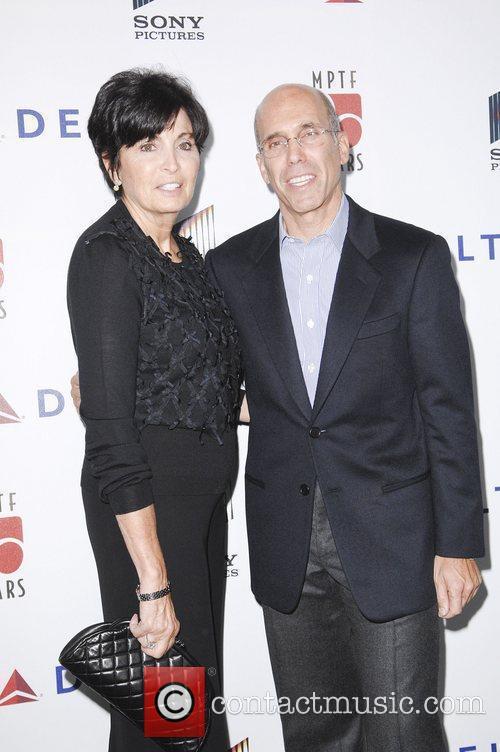 Marilyn Katzenberg, Jeffrey Katzenberg,  at the 6th...