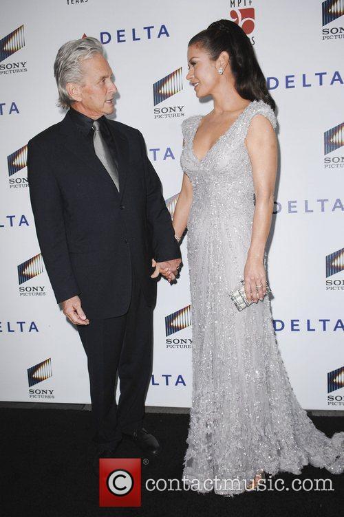 Michael Douglas, Catherine Zeta-Jones,  at the 6th...