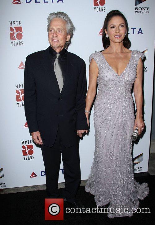 Michael Douglas and Catherine Zeta-Jones The 6th Annual...