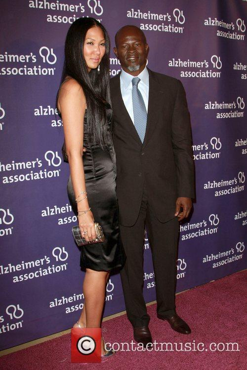 Kimora Lee Simmons and Djimon Hounsou 5