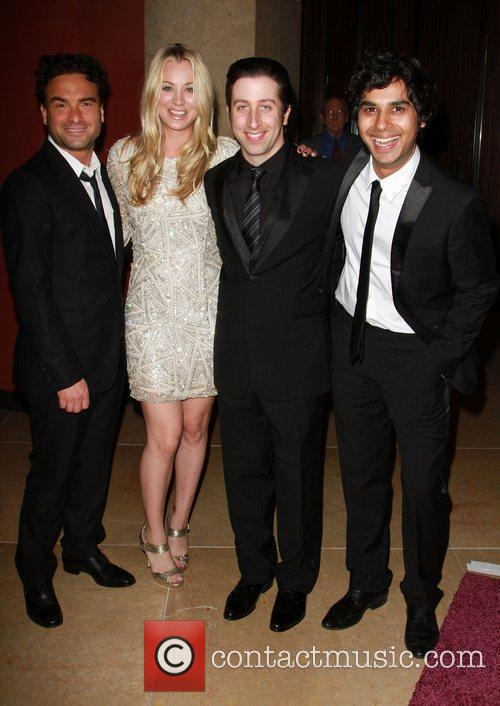Johnny Galecki, Kaley Cuoco, Simon Helberg
