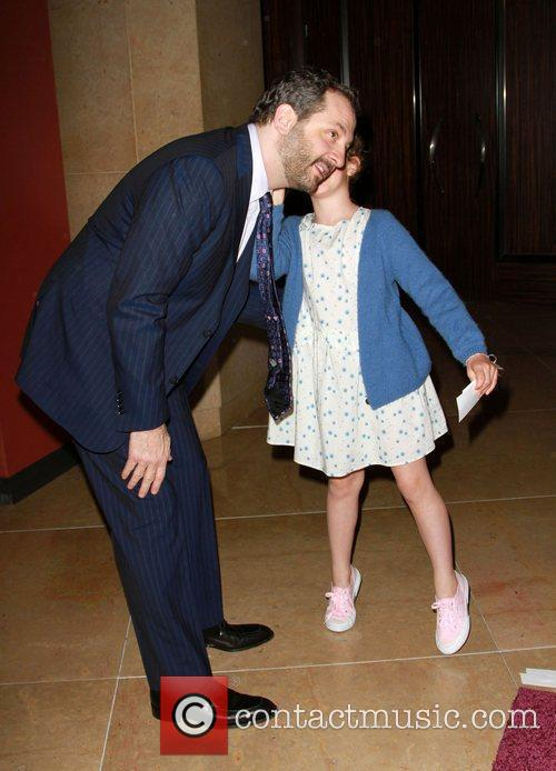 Judd Apatow, with his Daughter The Alzheimer's Association's...