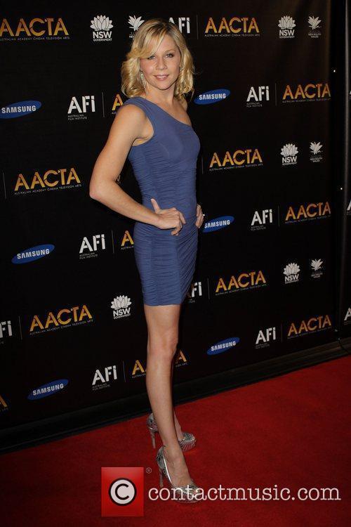 Gigi Edgley The launch of the Australian Academy...