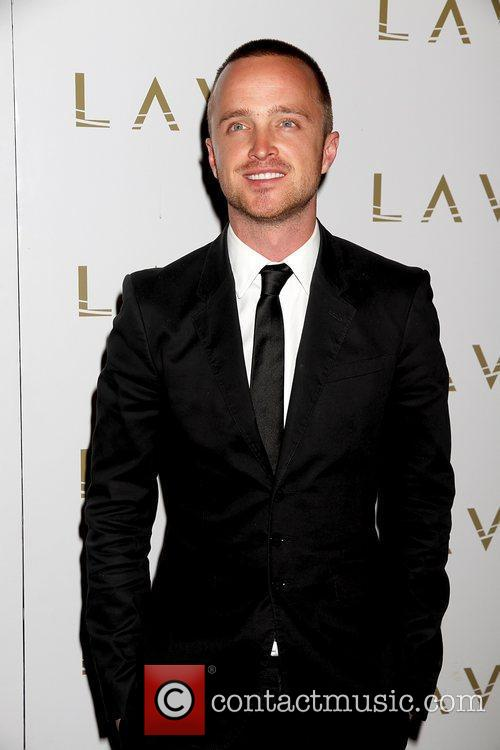 Aaron Paul hosts post-fight party at the Lavo...